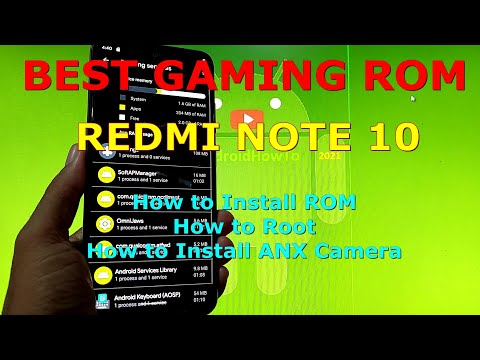 Best Gaming ROM and Daily Use for Redmi Note 10 ( Mojito ) Android 11
