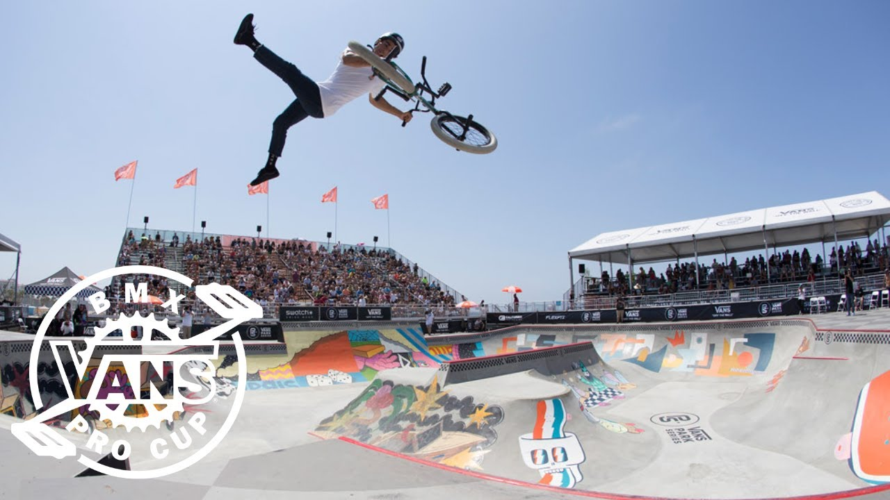 640f55b972d5a7 2018 Vans BMX Pro Cup Series Huntington Beach Semi-finals Highlights ...