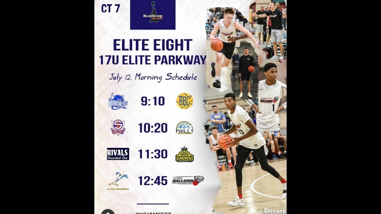 Elite 8 Schedule 2020 2020   2021 York Ballers v NJ Roadrunners ELITE 8 @ HoopGroup