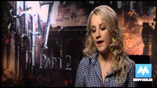 Final Harry Potter interviews - Luna Lovegood (Evanna Lynch) - Deathly Hallows Part 2