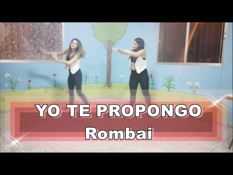 Yo te propongo - Rombai (Coreografía Naylar Zumba)