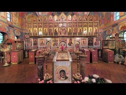 2017.03.18. Sunday of the Cross. Vigil. Крестопоклонная неделя. Всенощная (English/Slavonic)