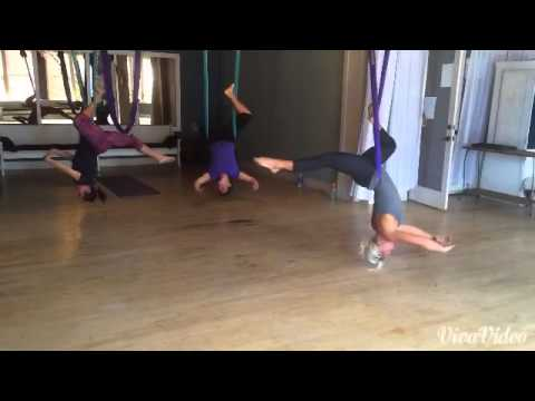 AntiGravity AirBarre - Feeling Good in Inverted Spinning Ballerina