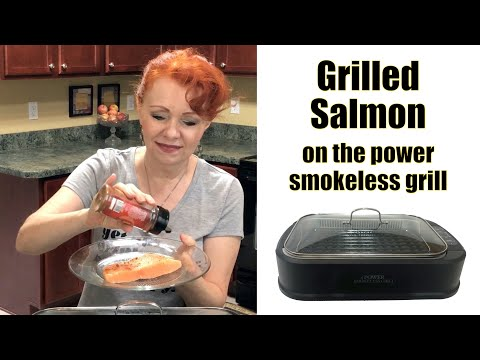 grilled-salmon-on-the-smokeless-grill