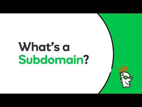 What Is A Subdomain? | GoDaddy