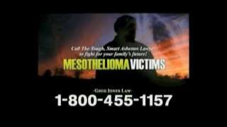 MESOTHELIOMA LAWSUIT  TV AD - 2012