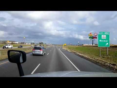 Bigrigtravels Live! - Schulenburg to Houston Texas - Interstate 10 - December 26, 2016