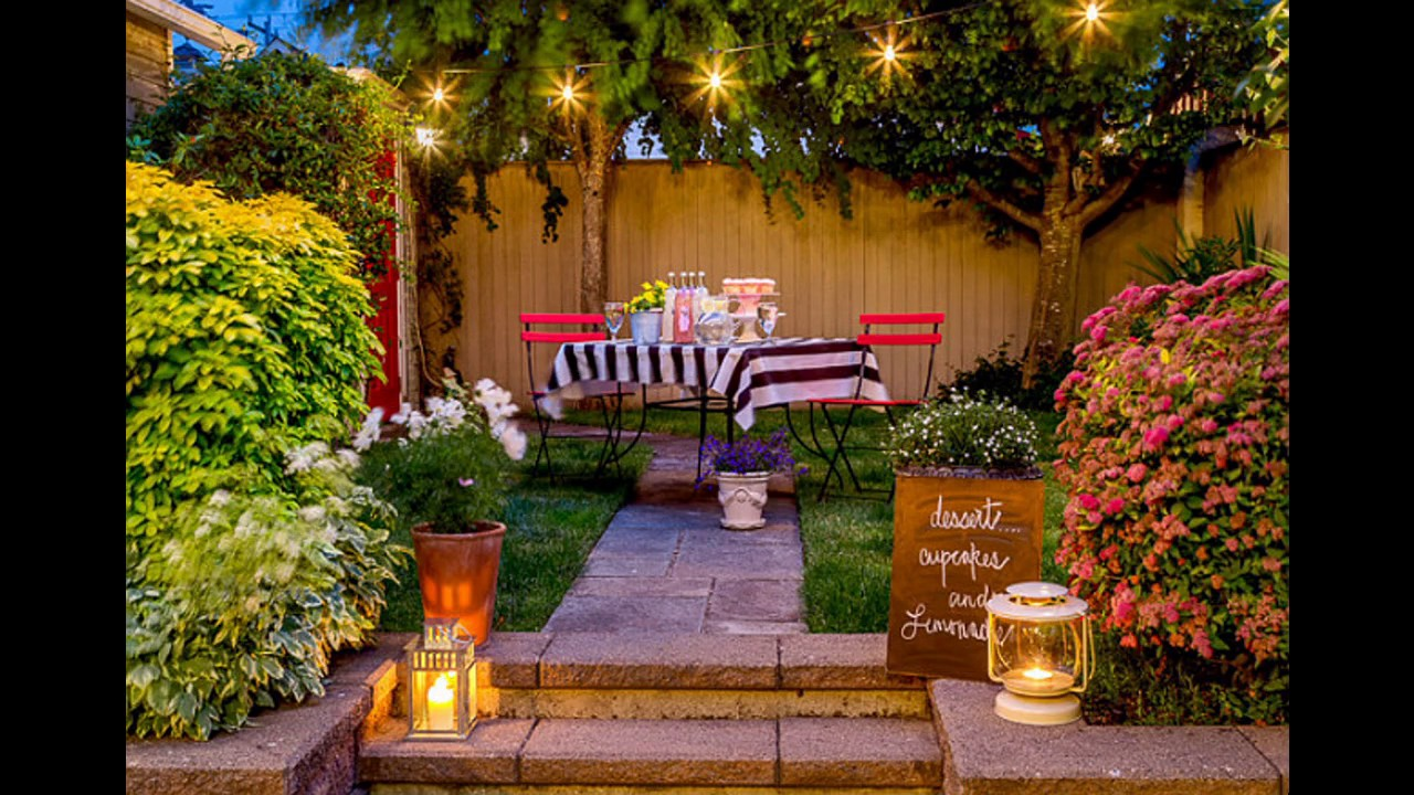 Patio Party Decorating Ideas