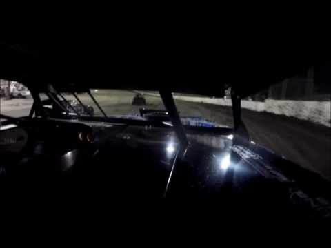 GoPro In-Car Camera with the #42 of Clint Young at Macon Speedway Feature 9/24/16