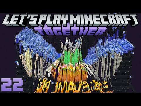 Let's Play Minecraft Together 22 New Projects! New Trophies! New Armour Stands!