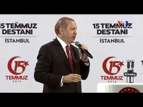 Cumhurbaşkanı Erdoğan'ın 15 Temmuz Anma Konuşması