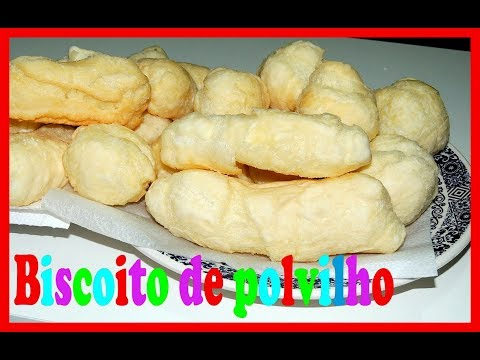 Biscoito de polvilho Frito sem estourar