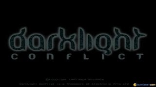 Darklight Conflict gameplay (PC Game, 1997)