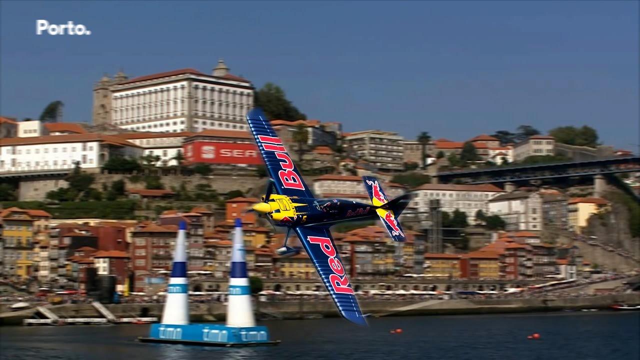 Red Bull Air Race chega ao Porto no dia 2 e 3 de Setembro