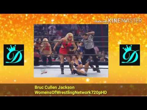WWE Survivor Series 2007 10 Divas Tag Team Match