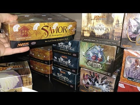 2004 Saviors Of Kamigawa Box Opening = The Recession of Magic The Gathering