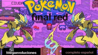 DESCARGAR POKEMON FINAL RED EN ESPAÑOL HACKROM IMPRESIONANTE CON MEGA EVOLUCIONES Y MAS 2019
