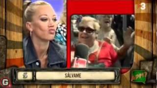 Una mujer insulta a Belén Esteban en directo en Sálvame