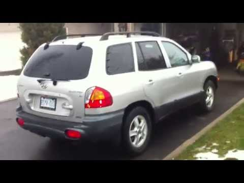 2002 Hyundai Santa-Fe V6 4WD Startup Engine & In Depth Tour