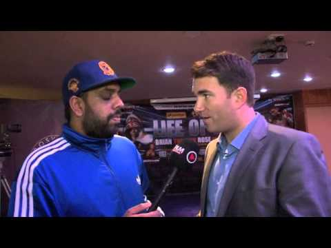 EDDIE HEARN TALKS BRIAN ROSE, LEE SELBY, KELL BROOK INJURY & BELLEW REMATCH / iFILM LONDON