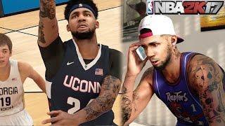 NBA 2k17 MyCAREER - #1 Draft Pick Secured? Dynamic Duo in College! Ep. 4