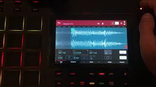 Akai MPC Live - Quick Sample Chop to Beat - Start to Finish