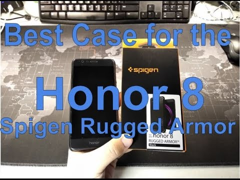 huge discount d8203 f3515 Best Case for the Honor 8 - Spigen Rugged Armor