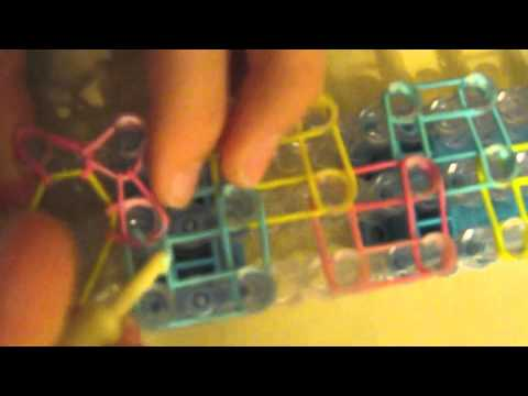 how to make a bracelet out of rainbow loom