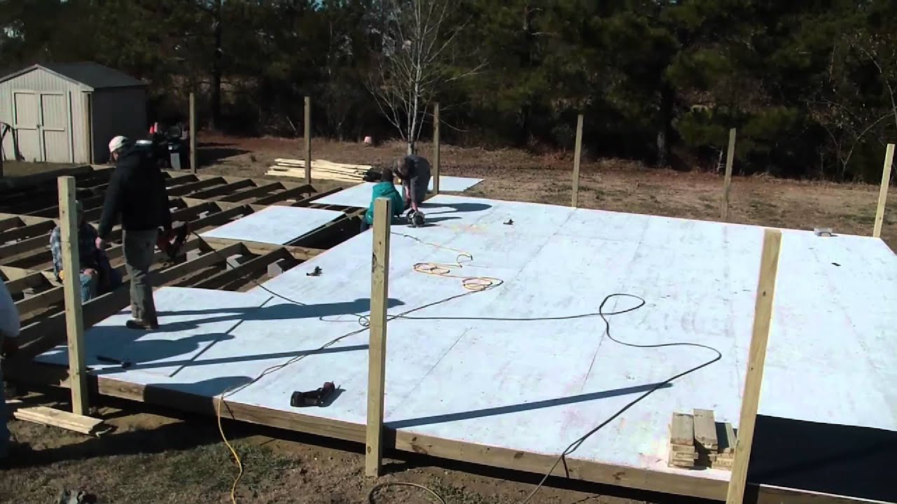 Synthetic Ice Rink Buildmp YouTube - Backyard roller hockey rink