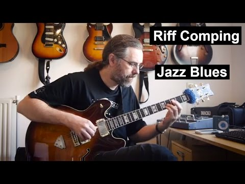 Riff comping in Jazz -  12 bar blues
