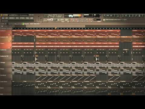 Rakim & Ken Y - Quedate Junto A Mi Instrumental Remake Fl Studio