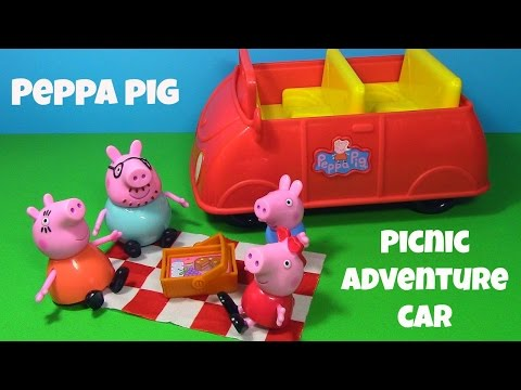 peppa-pig-picnic-adventure-car-toy-review