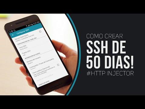 APP CREAR CUENTAS SSH PREMIUM DE 15 y 50 DIAS