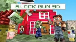 Block Gun 3D: Zombie Farm (MineCraft Style) GamePlay