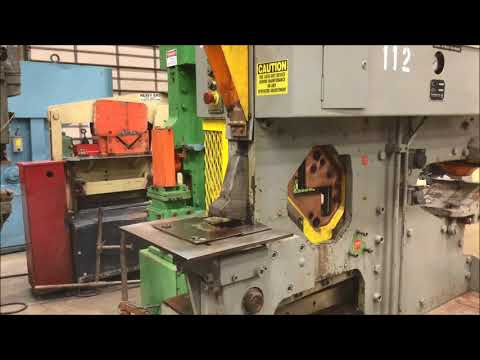 Used 66 Ton Peddinghaus Ironworker, #26374