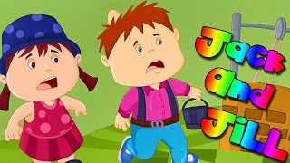Jack and Jill Song ???????? For Kids - Songs for Babies - THE BEST Nursery Rhymes for Children |