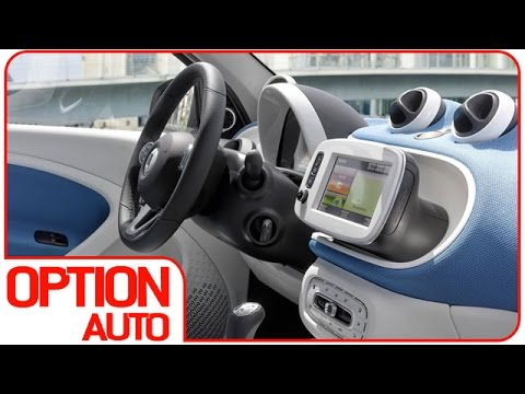 2015 smart fortwo interior option auto news youtube. Black Bedroom Furniture Sets. Home Design Ideas
