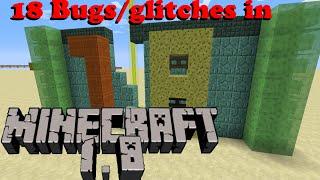 18 Bugs/glitches in Minecraft 1.8