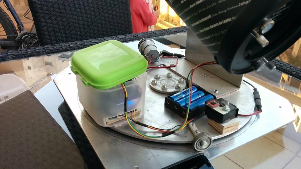 My arduino telescope project doovi