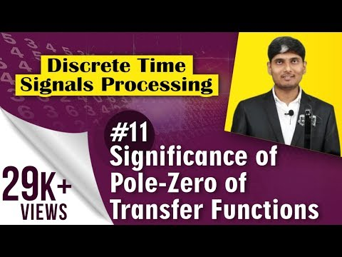 What is Significance of Pole-Zero of Transfer Functions