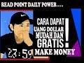 CARA DAPAT UANG DOLLAR MUDAH DAN GRATIS SETIAP HARI