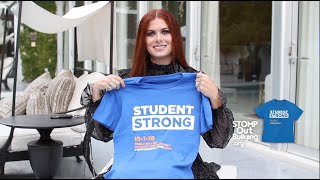 Debra Messing Supports WORLD DAY OF BULLYING PREVENTION™ 2018