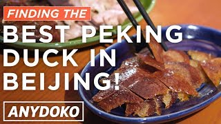 Finding the Best Peking Duck in Beijing! Featuring Da Dong, Liqun, Siji Minfu & More!