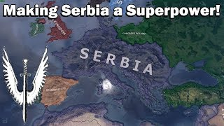 Building a Serbian Empire in Hoi4 (Speedrun/Timelapse)