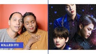 Video BTS - 'The Truth Untold (feat. Steve Aoki) Remix' Live At Tomorrowland 2018 REACTION (BTS REACTION) download MP3, 3GP, MP4, WEBM, AVI, FLV Juli 2018
