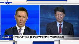 Supreme Court Nominee Announced by President Trump