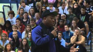 Baltimore Ravens Rb Ray Rice Surprises Students At Bel Air High School (md)