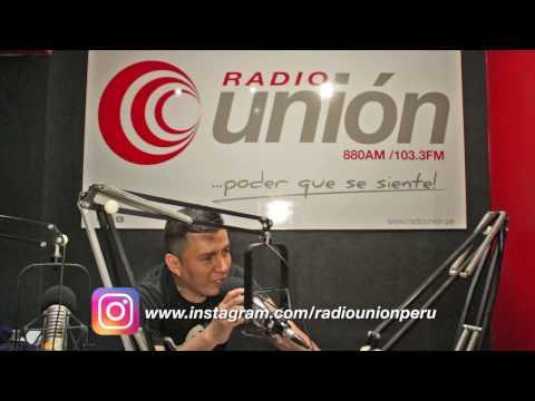 Locución en vivo cabina de Radio Unión (Miraflores-Lima-Perú) 2017