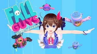 【Fall Guys: Ultimate Knockout】新ギミックに挑戦!先に進めるか!?【#ときのそら生放送】
