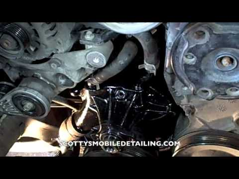 How To Install A Chevy Waterpump Part 2 Youtube